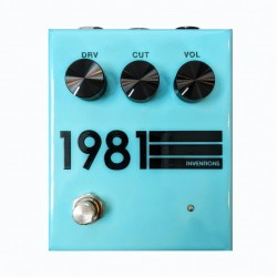 1981 INVENTIONS - TEAL BLACK - LIMITED COLORS