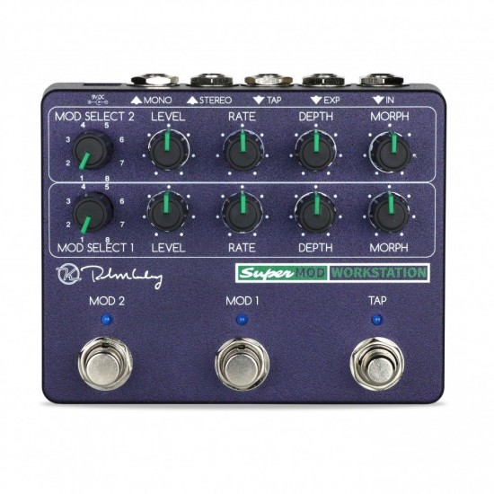 Keeley Electronics - Super Mod Station - Killer Modulation Effects