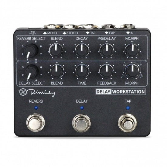 Keeley Electronics - Delay Workstation - Delay+Reverb with Tap Tempo