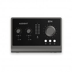AUDIENT - iD14 - 10 in 6 out High Performance USB Interface with Advanced Monitoring Control