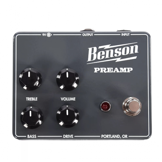 Benson Amps - Preamp Pedal
