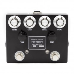 BROWNE AMPLIFICATION - THE PROTEIN (BLACK) - DUAL OVERDRIVE PEDAL
