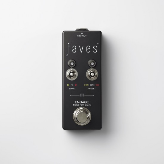 Chase Bliss Audio - Faves™ - MIDI Presets Controller