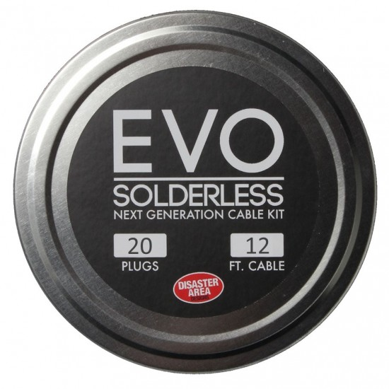 DISASTER AREA - EVO Solderless Cable Kit - 2012 KIT (BLACK)