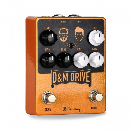 Keeley Electronics - D&M Drive - Overdrive & Boost
