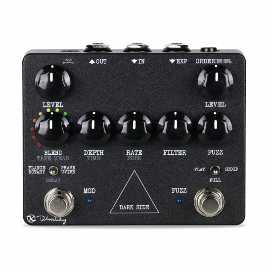 Keeley Electronics - Dark Side - Fuzz, Delay, Flanger, Phaser