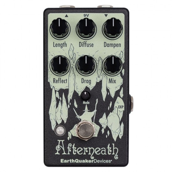 EarthQuaker Devices - Afterneath® V3 - Enhanced Otherworldly Reverberator