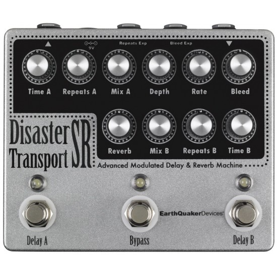 EarthQuaker Devices - Disaster Transport SR™ - Advanced Modulated Delay & Reverb Machine