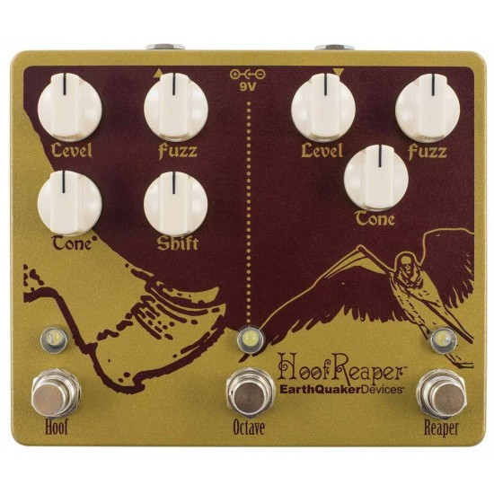 EarthQuaker Devices - Hoof Reaper® - Double Fuzz with Octave Up