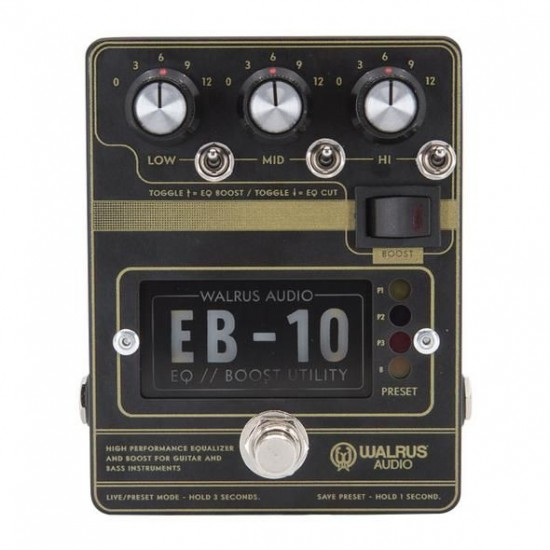 Walrus Audion - EB-10 - Preamp // EQ // Boost