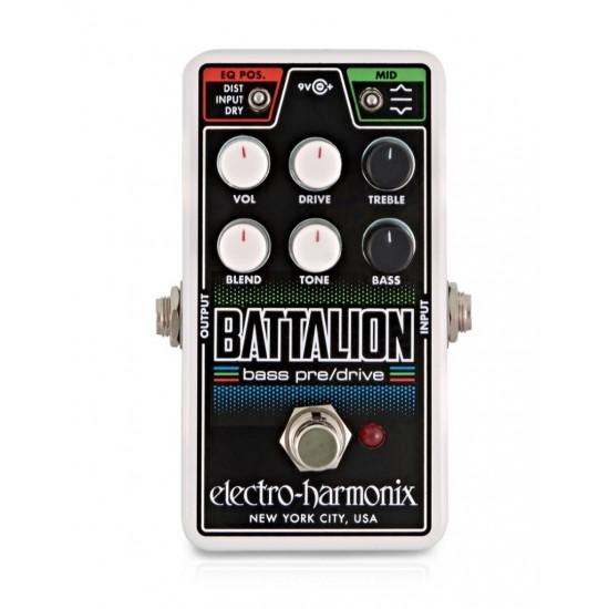 Electro-Harmonix - Nano Battalion - Bass Preamp & Overdrive