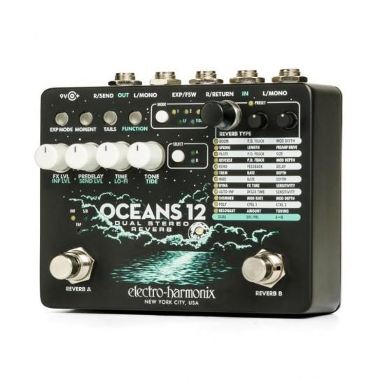 Electro-Harmonix - OCEANS 12 - Dual Stereo Reverb