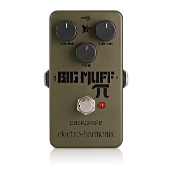 Electro-Harmonix - Green Russian Big Muff Pi - Fuzz Pedal