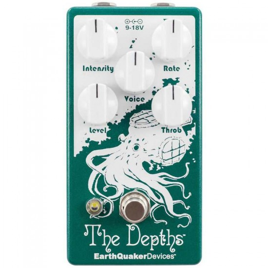 EarthQuaker Devices - The Depths™ Analog Optical Vibe Machine