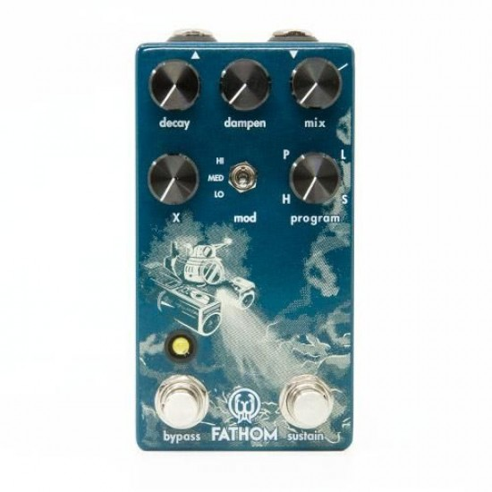Walrus Audio - FATHOM - Multi-Function Reverb