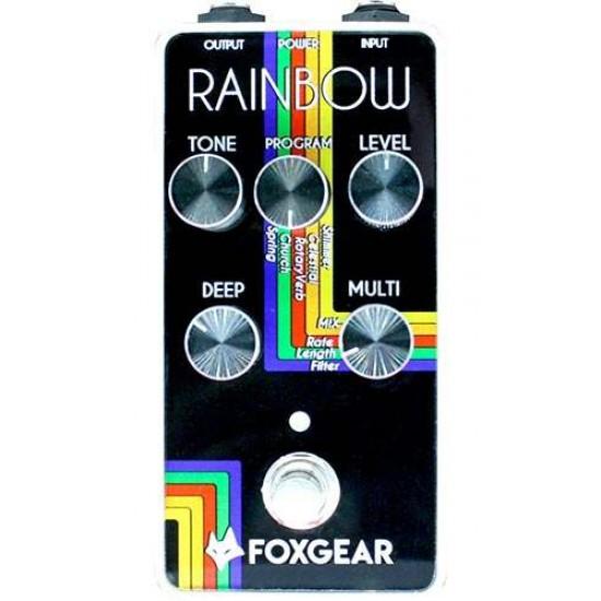 Foxgear - Rainbow - Reverb Pedal