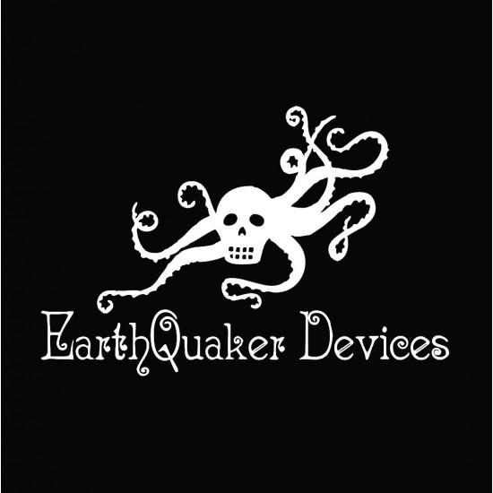 EarthQuaker Devices Logo T-Shirt - Black Tee w/ White Logo