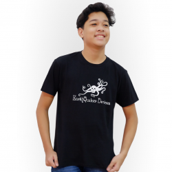 EarthQuaker Devices Logo T-Shirt - Black Tee w/ White Logo