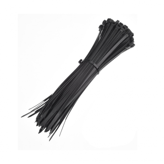 Cable Tie With Mounts - 50 pcs