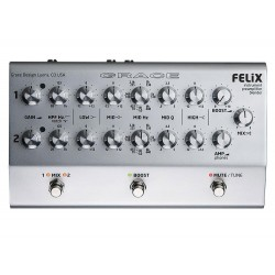 GRACE DESIGN - FELiX - STUDIO QUALITY 2-CHANNEL INSTRUMENT & MIC PREAMPLIFIER / DI / EQ