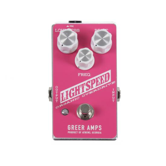 Greer Amps - Light Speed - Pink White