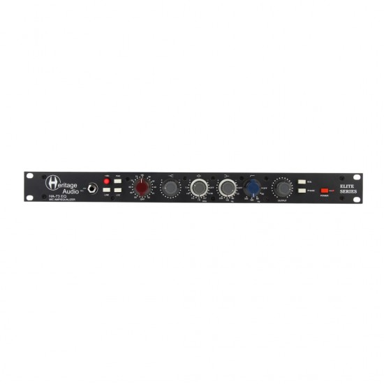HERITAGE AUDIO - HA73EQ ELITE - Microphone Preamp & EQ