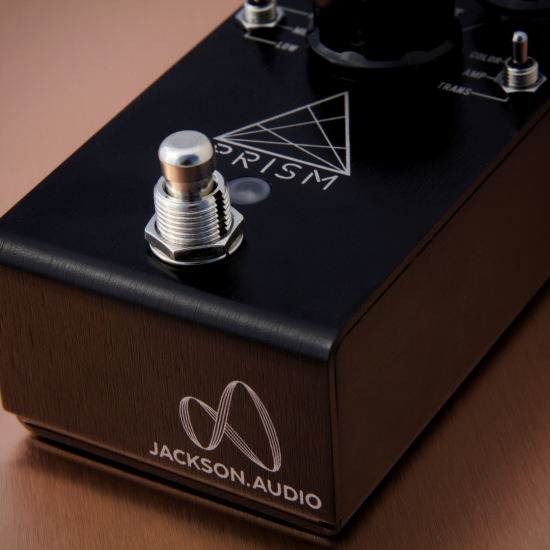 Jackson Audio - PRISM (BLACK) - Buffer, Boost, Preamp, EQ & OD