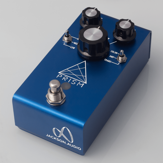 Jackson Audio - PRISM (BLUE) - Buffer, Boost, Preamp, EQ & OD