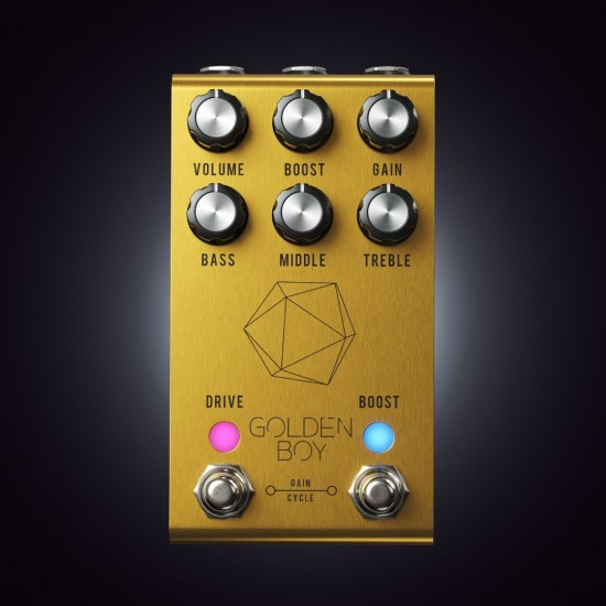 Jackson Audio - Golden Boy - Transparent Overdrive