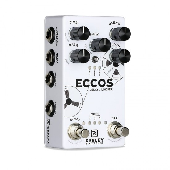 Keeley Electronics - ECCOS - Delay & Looper