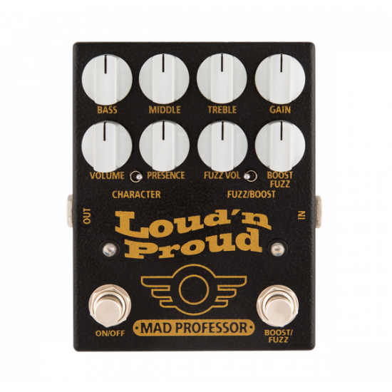 Mad Professor - Loud' N Proud - Vintage Marshall in a box with a boost/fuzz
