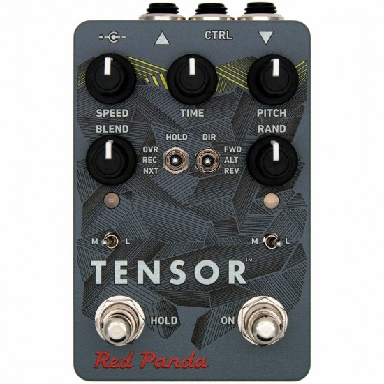 Red Panda - Tensor - Time Warp Pedal