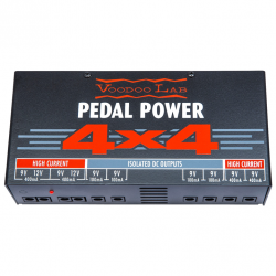 Voodoo Lab - Pedal Power® 4x4 - 8-Output Isolated Power Supply - 230V