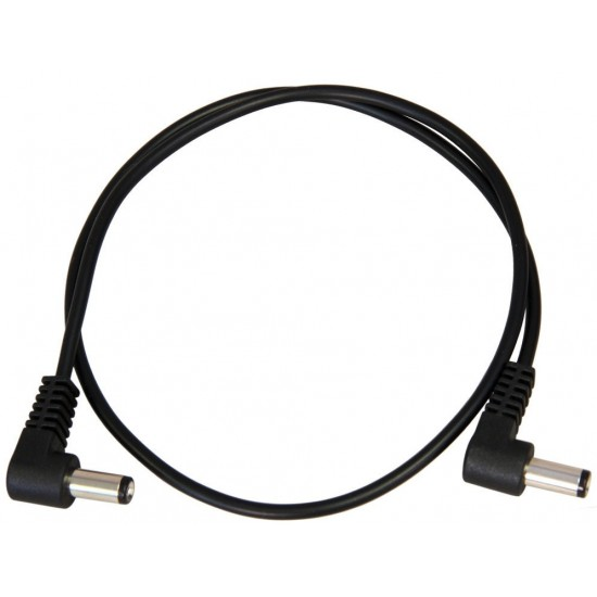 "36"" Voodoo Lab Pedal Power Cable - 2.1mm right-angle on both ends"