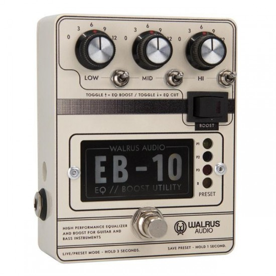 Walrus Audion - EB-10 - Preamp // EQ // Boost