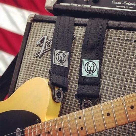 Walrus Audio - Auto Locking Guitar Strap - Teal Logo