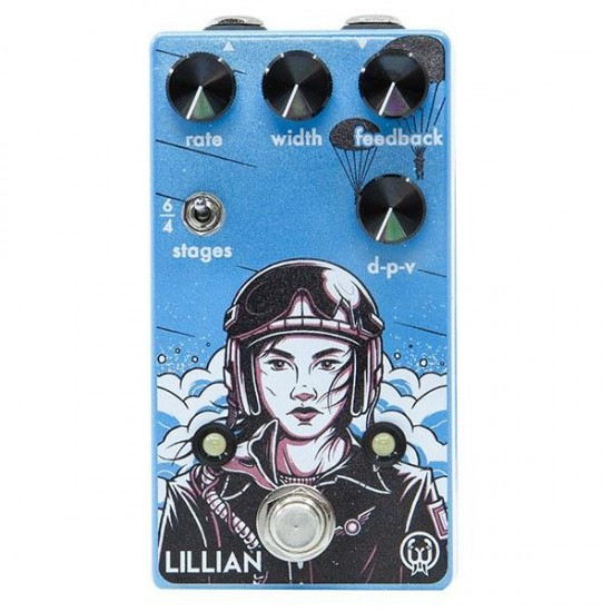 Walrus Audio - Lillian Multi-Stage Analog Phaser