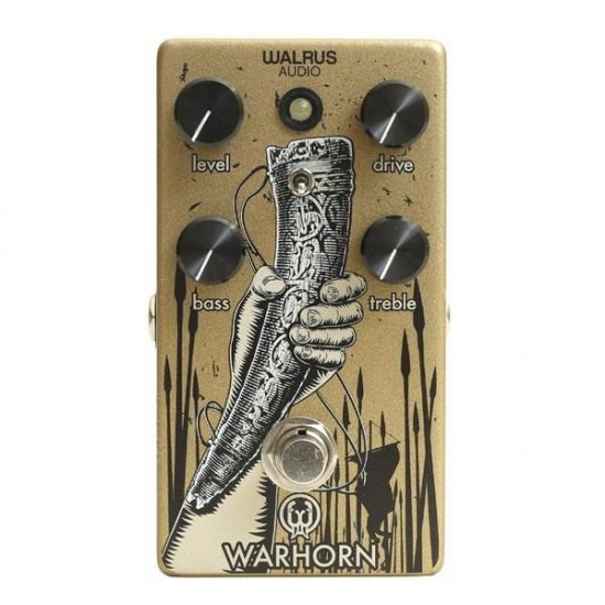 Walrus Audio - WARHORN - Mid-Range Overdrive