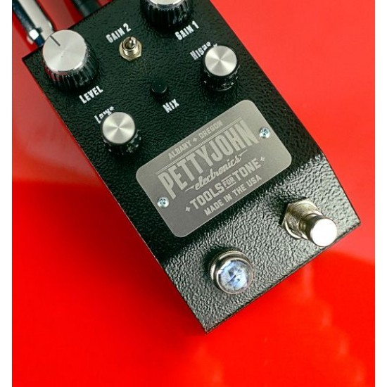PettyJohn - Fuze Pedal - Studio-Grade Fuzz/Dist Pedal