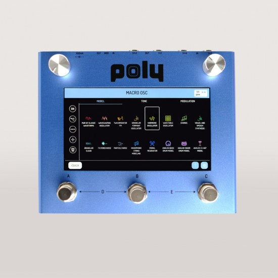 Poly Effects - Beebo - Visual Modular Pedal