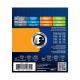 Elixir® - Electric Nickel Plated Steel Strings with NANOWEB™ Light 10-46
