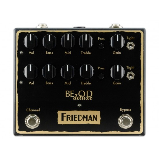 Friedman - BE-OD Deluxe - Dual Overdrive Pedal