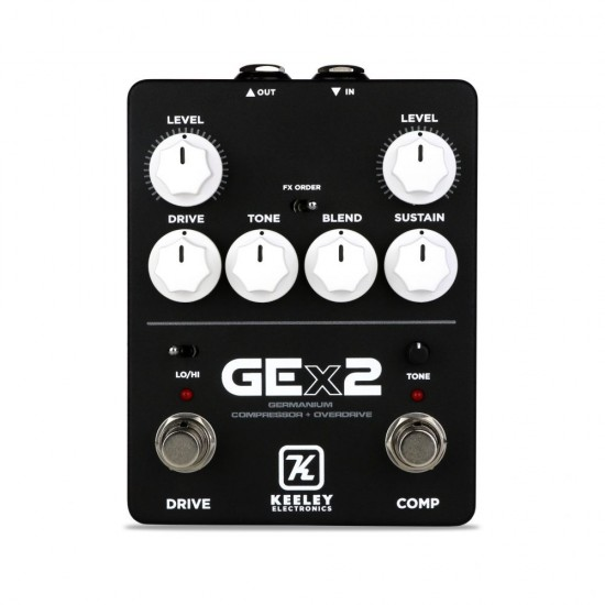 Keeley Electronics - GEx2 Germanium Compressor + Germanium Overdrive