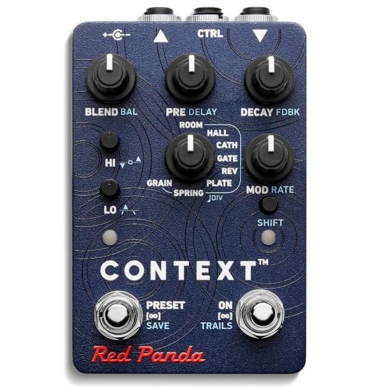 Red Panda - Context 2 - Reverberator