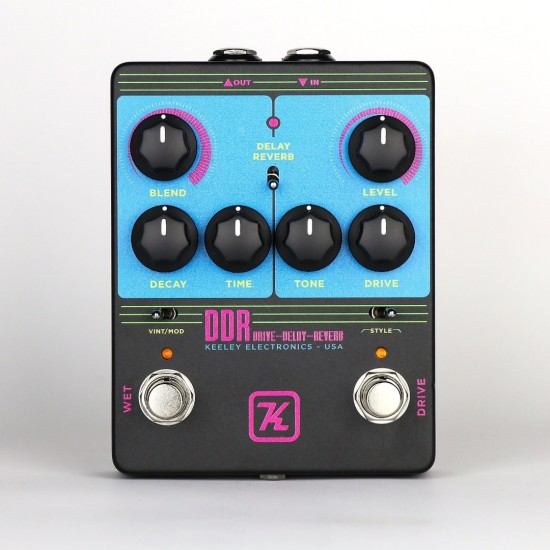 Keeley Electronics - DDR - Drive Delay Reverb - Limited Edition Release