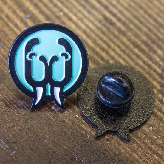 Walrus Audio - Enamel Lapel Pin