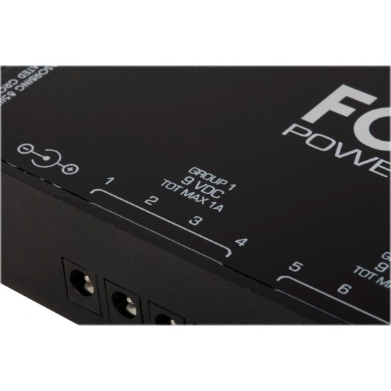 Foxgear - Powerhouse 6000 - Pedal Power Supply